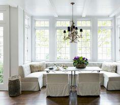 Living space #white room #white upholstered furniture #chandelier