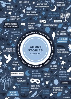 Ghost Stories by Coldplay is such an amazing album
