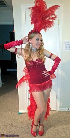 Vegas Showgirl - 2013 Halloween Costume Contest via @costumeworks