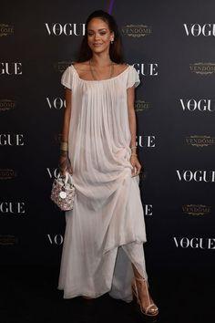 Les stars à la soirée des 95 ans de Vogue Paris: Rihanna - L'Express Styles. Photo: Getty Images