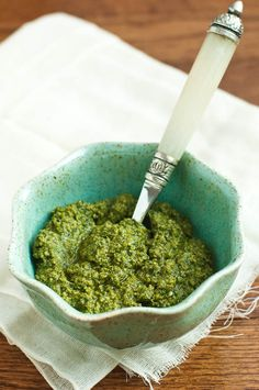 Pesto with walnuts