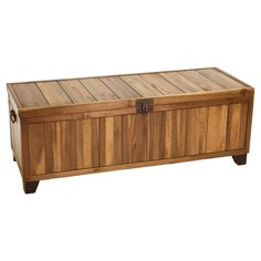 Superieur 15 Interesting Wood Patio Storage Bench Foto Ideas