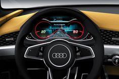 Audi Crosslane Coupe Concept Instruments