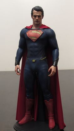 Custom repaint--DC - Man of Steel- Superman-1/6 scale collectible figure by #Hot Toys