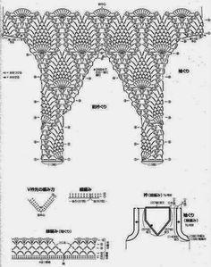 Häkelmuster Fundgrube: Tunikas ärmellos