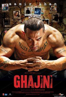 GHAJİNİ  Ghajini, 25 Aralık 2008 tarihinde gösterime girmiş bir Hint filmidir. Filmin yönetmeni A. R. Murugadoss 2005 yılında Tamil dilinde çektiği Ghajini filminin Hint uyarlamasını yapmıştır