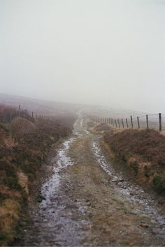 Country dirt road in the foggy mist. Back Road, Winding Road, Far Away, The Great Outdoors, Paths, Places To Go, Nature Photography, Beautiful Places, Images