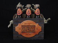 Firewater Brew - Plus / Minus — Graphic Design + Typography + Art Direction