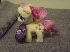 My Little Pony Fluttershy Plush Backpack Clip  #Hasbro