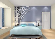#potinterior #potfuniture bed room design ideas 3D wallpaper