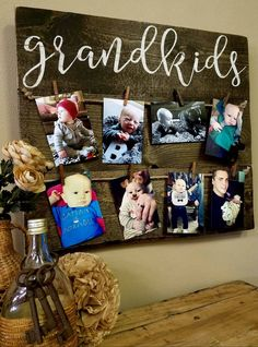 Grandkids : Photo Board
