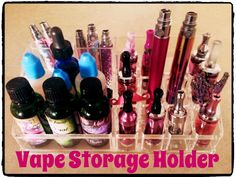 Vape Storage Holder from The Pretty Vapes Thread! Share your girly vapes and accessories on this fun thread at Nu-Vapor :)