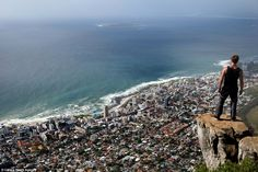Lion's Head offers stunning views of the city of Cape Town, and is situated more than 2,000ft above sea level