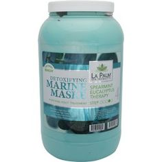 La Palm Products Spearmint Eucalyptus Therapy Detoxifying Marine Maske / 1 Gallon - La Palm Detoxifying Marine Maske is formulated to heal and remove impurities from skin. Exclusive blend of essential minerals helps regenerate and revitalize skin.  This p