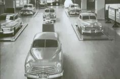 OG | 1949 Ford | Full-size clay models in clinic test dated 1945.