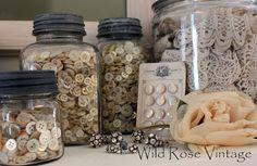 Wild Rose Vintage: New shelf part two...