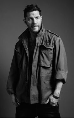 Tom Hardy for Esquire