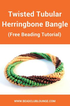Want free Herringbone Stitch beading tutorials? Here's a list of patterns that includes all of the variations of this bead-weaving technique like Flat, Tubular and even Twisted Tubular Herringbone Stitch that you can use to make beaded rope jewelry and mo Free Beading Tutorials, Beading Patterns Free, Bead Patterns, Embroidery Patterns, Weaving Patterns, Knitting Patterns, Crochet Patterns, Mosaic Patterns, Diy Beaded Bracelets