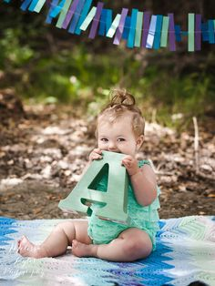 Baby's first birthday by Melissa Taylor Photography