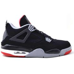 308497-089 Air Jordan 4 Bred Black/Cement Grey-Fire Red   $120   http://www.sneakerforsale2014.com/308497-089-air-jordan-4-bred-black-cement-grey-fire-red-646.html