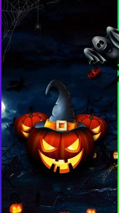 Search free halloween Wallpapers on Zedge and personalize your phone to suit you. Start your search now and free your phone Halloween Artwork, Halloween Scene, Halloween Drawings, Halloween Pictures, Disney Halloween, Halloween Horror, Vintage Halloween, Halloween Pumpkins, Fall Halloween