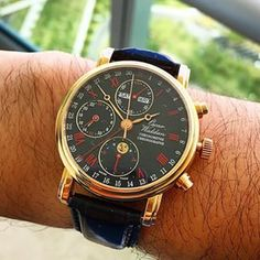 Discover the @WaldanInternational 0195-Chronograph Chronometer and the ...