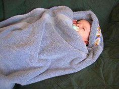 I make these for baby showers all the time. Love the hooded baby towels