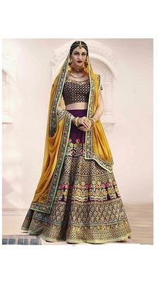 Buy Sai creationSemi-stitched silk Embroidered Blue Lehengha Choli online in India at best price.Fabric:-Silk Work:-Embroidery Style:- With Blouse Piece It's Lehenga Choli with Dupatta Disclaimer :- Heavy Lehenga, Lehenga Dupatta, Bridal Lehenga Choli, Pakistani Party Wear, Party Wear Lehenga, Party Wear Dresses, Lehenga Online, Purple Blouse, Embroidered Silk