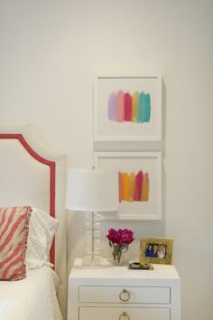 How to Style Your Nightstand - square photos above