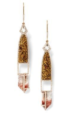 Image result for dino bone earrings