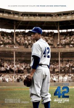 """Jackie Robinson movie """"42"""" great movie!!!"""