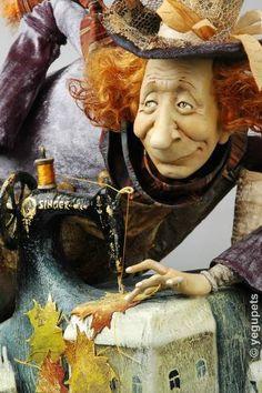 An Autumn Taylor, Olga E. Egupets art doll