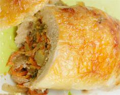 Recetas de pollo Carne Picada, Dairy, Cheese, Chicken, Food, Stuffed Chicken, Chicken Recipes, Homemade Recipe, Dishes
