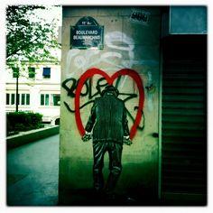 Paris, Boulevard Beaumarchais, May 2012