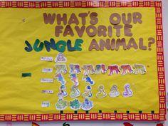 Jungle summer theme math activity. Favorite jungle animal! Beginner math skills!
