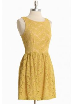 $45.99.  Afternoon Sunshine Lace Dress
