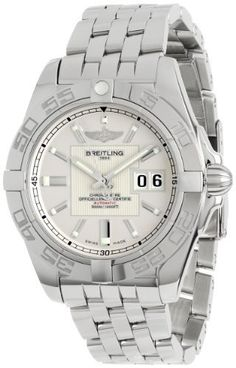Breitling Men's A49350L2/G699 Galactic 42 Silver Dial Watch, http://www.amazon.com/dp/B005COEO06/ref=cm_sw_r_pi_awdm_WYoKsb0E2HBW8