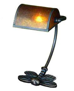 Meyda Tiffany Traditional Bankers Table Lamp