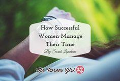 MCG - Succesful Women TIme Management