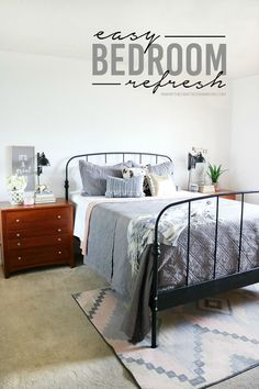 Easy Bedroom Refresh  |  #ad #BHGLiveBetter @bhg @bhglivebetter