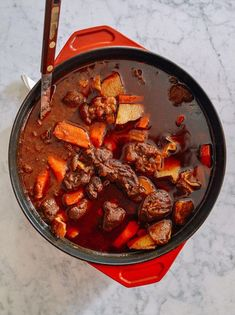Caribbean Spiced Lamb Stew, by thewoksoflife.com