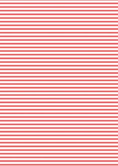 FREE printable red-white stripes pattern paper ^^