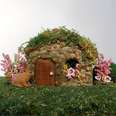 Miniature Fairy Garden Pippin House