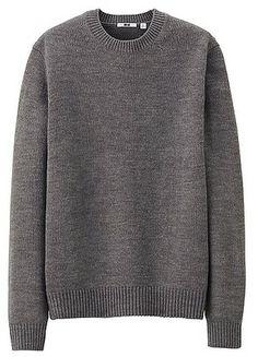 Heattech Crew Neck Sweater - Uniqlo