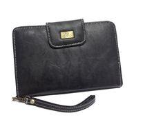 BLACK TAB WALLET SB162 for more details visit www.streetbazaar.in #style #handy #black #tab #wallet