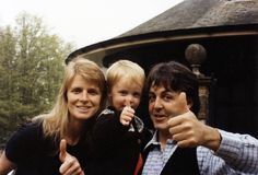 Linda, Paul and James ♥