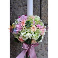 lumanari de cununie din hortensie roz si hortensie verde Floral Wreath, Wreaths, Home Decor, Green, Flower Crown, Decoration Home, Door Wreaths, Deco Mesh Wreaths, Interior Design