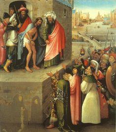 Jheronimus Bosch ca. 1450 – 1516     Ecce Homo     oil on panel (75 × 61 cm) — ca. 1476 of later