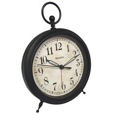 "Westclox Clocks Ring Alarm Clock | 7"" H x 5"" W x 2"" D | 10 in stock | Retail $29.99, ON SALE $28.99"