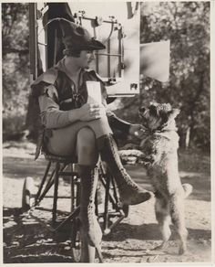 Errol Flynn on the set of The Adventures of Robin Hood